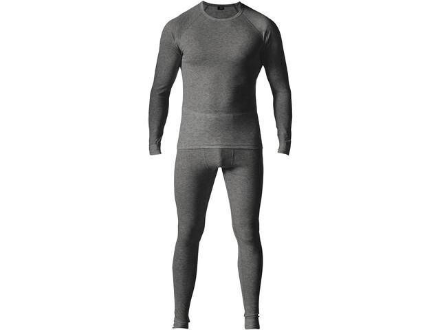 Maier Sports Adrian Baselayer Set Men, gris